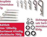 Federsplinte Sortimentsbox von Kraft Werkzeuge