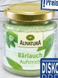 Bio Bärlauch-Aufstrich von Alnatura