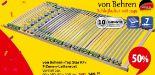 7-Zonen-Lattenrost Top Star Fix von Von Behren