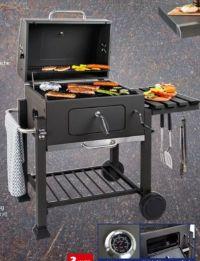 Holzkohle-Grillwagen von BBQ
