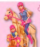 Steffi-Evi mit Pferde von Simba