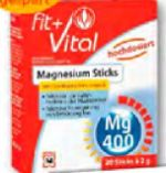 Magnesium Sticks von Fit+Vital