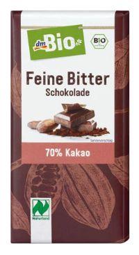 Feine Bitter Schokolade von dmBio