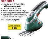 Akku-Strauchschere Isio Set von Bosch