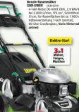 Benzin-Rasenmäher  GBD-51REV von Gardol