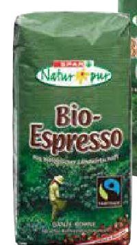 Bio-Espresso von Spar Natur pur