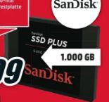Festplatte SSD Plus von Sandisk