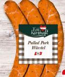Pulled Pork Würstel von Echt Herzhaft
