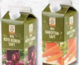 Bio Gemüsesaft Karotte von Natürlich für uns