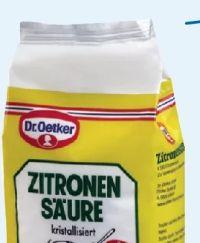 Zitronensäure von Dr. Oetker
