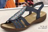 Damen Keil Sandaletten von Rieker