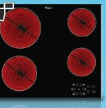 Glaskeramik-Kochfeld AKT 8090 LX von Whirlpool