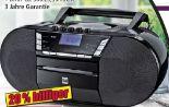 Portable DAB+Boombox P200 von Dual