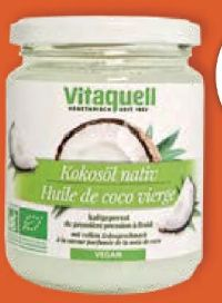 Bio Kokosöl Nativ von Vitaquell