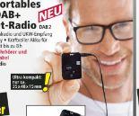 Portables DAB+ Pocket-Radio DAB2 von Dual