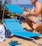 Strand-Transportliege von Crivit