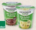 Bio-Sahne-Pudding von Andechser Natur
