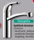 Spültisch-Armatur Focus von Hansgrohe