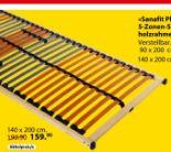 5-Zonen-Schichtholzrahmen Sanafit
