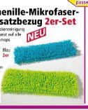 Chenille-Mikrofaser Ersatzbezug von Saubermax