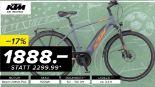 E-Trekkingbike Elotrek 9 von KTM