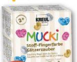 Stoff-Fingerfarben-Set Mucki von Kreul