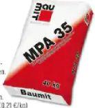 Maschinenputz MPA35 von Baumit