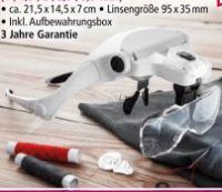 LED-Brillenlupe von Kraft Werkzeuge