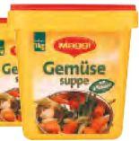 Gemüsesuppe von Maggi