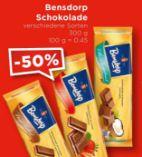 Schokolade von Bensdorp