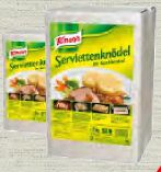 Servietten Knödel von Knorr