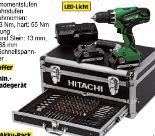 2-Gang-Elektronik Akku-Schlagbohr-Schrauber DV18DJL+ von Hitachi
