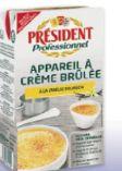 Creme Brulee von President