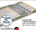 7-Zonen-Rahmenrost Top Star Fix von Von Behren