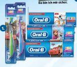 Elektrische Zahnbürste+Kinderzahnbürste von Oral-B