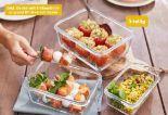 Glas-Frischhaltedosen-Set von Ernesto