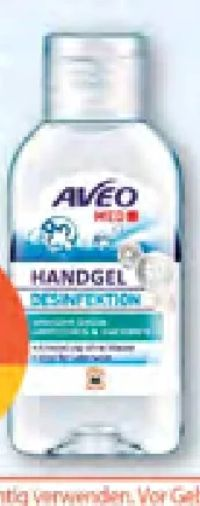 Handgel von Aveo Med