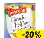 Pfirsich-Hälften von Freshona