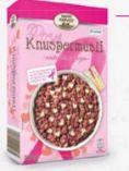 Rosa Knuspermüsli von Happy Harvest