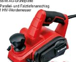 Handhobel TC-PL 750 von Einhell