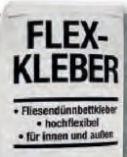 Flexkleber von Bauhaus