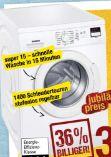 Waschautomat WM14E220 von Siemens