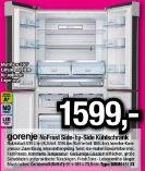 NoFrost Side-by-Side Kühlschrank NRM9181UX von Gorenje