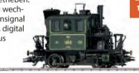 Dampflokomotive Glaskasten von Märklin