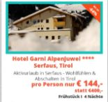 Hotel Garni Alpenjuwel Residenz von we-are.travel