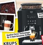 Kaffeevollautomat EA8170 von Krups