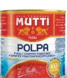 Polpa Tomatenfruchtfleisch von Mutti