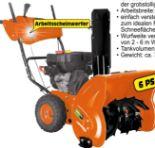 Benzin-Schneefräsen 620 E von Gardenline