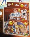Orbis Emoji Tatoo Set von Revell