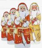 Weihnachtsmann von Lindt